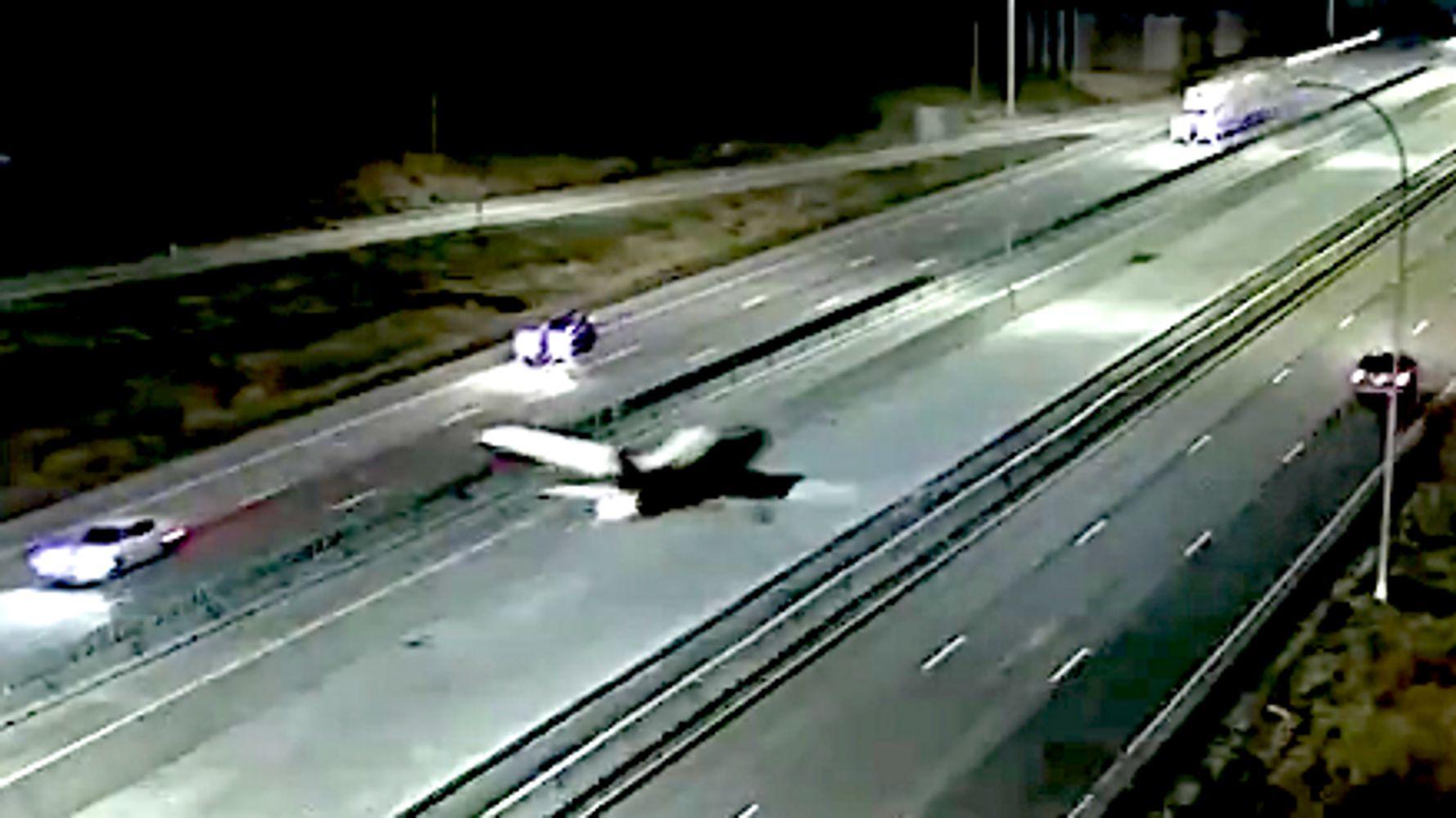 Watch Plane's Miraculous Emergency Landing On Minnesota Highway