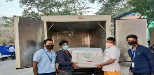 Goa received 2350 vials
