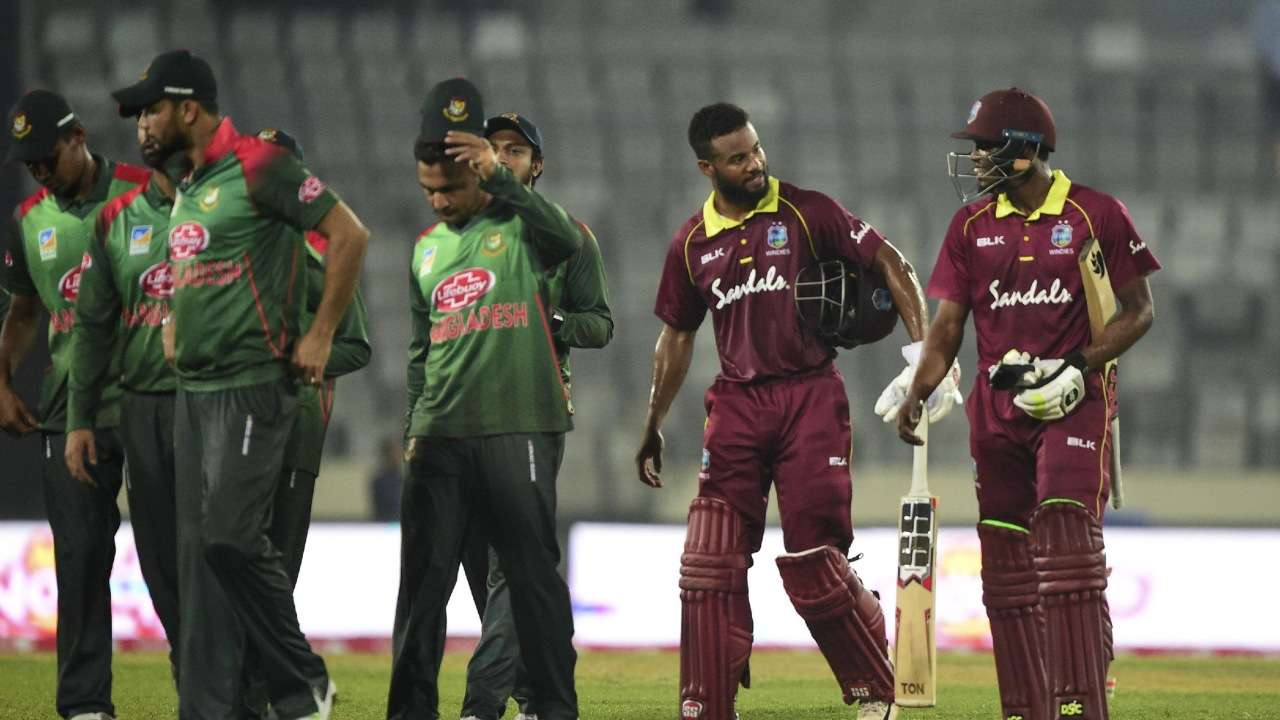Bangladesh, West Indies