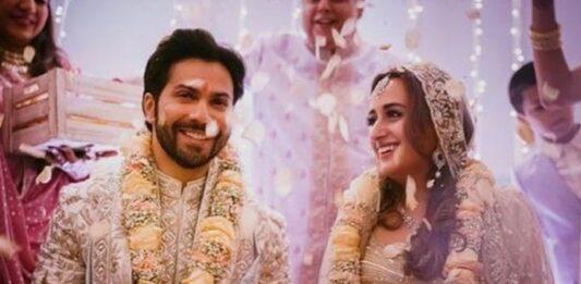 Catch Varun Dhawan's wife Natasha Dalal's stupendous bridal look from the VIDEO below, READ...