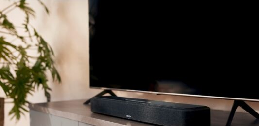 Denon expands its home theater lineup with the Home Sound Bar 550
