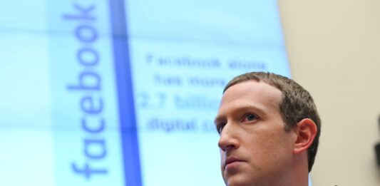 Facebook is removing flyers promoting more violence from its services