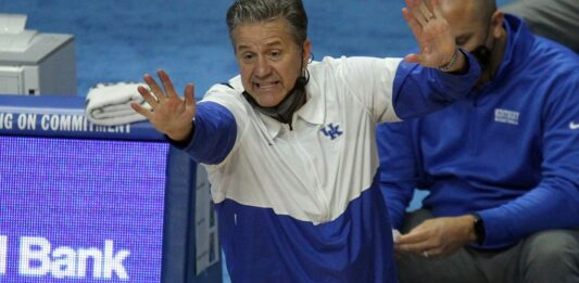 John Calipari misses the mark by criticizing his own players' protest
