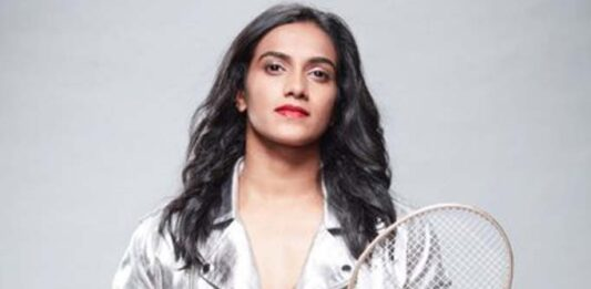 PV Sindhu DAZZLES in an off white saree; her look will give you major STYLE GOALS