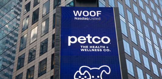Pet care retailer Petco shares surge nearly 70% as it returns to public market