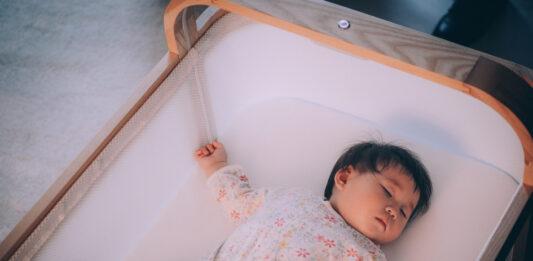 This AI smart crib gently bounces waking babies back to sleep