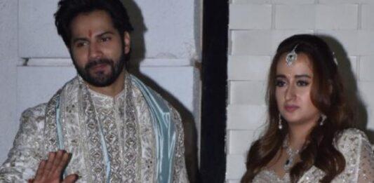 Varun Ki Shaadi: Varun Dhawan wins hearts with his wedding mehendi; Natasha Dalal flaunts her massive ring