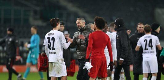 Borussia Moenchengladbach manager Marco Rose