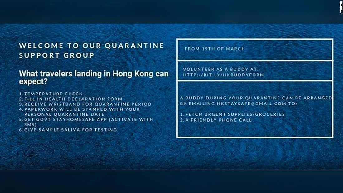 30,000-member Facebook group helps travelers navigate one of the world's longest quarantines
