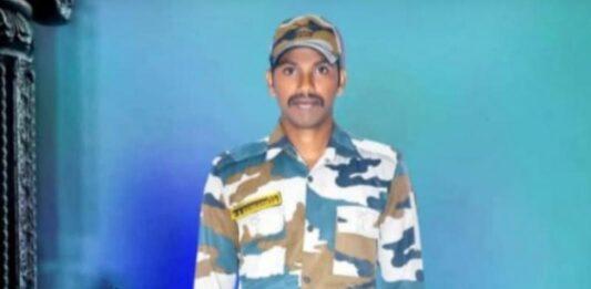 Army Jawan P. Shiva Gangadhar