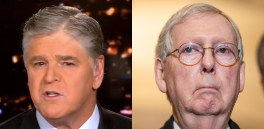 Hannity says it's time for new GOP leadership after McConnell condemns Trump for inciting insurrection