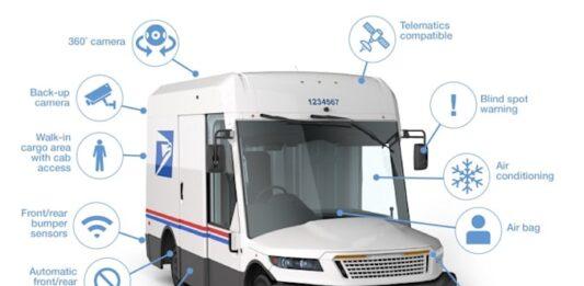 USPS next-gen delivery vehicle