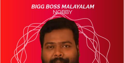 bigg boss malayalam 3 contestant nobby
