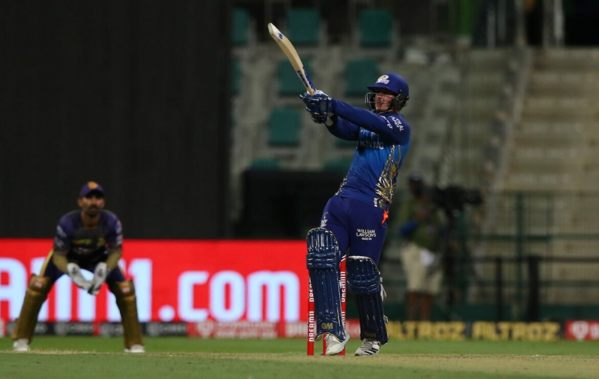 Quinton de Kock finished as Mumbai Indians