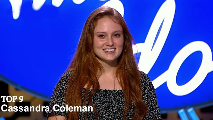 Cassandra Coleman top 9