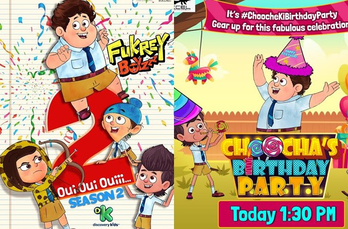 Discovery Kids and Excel Entertainment all-set to launch Fukrey Boyzzz Season 2 and premiere 'Bhaago Choocha Aaya' on 1st April