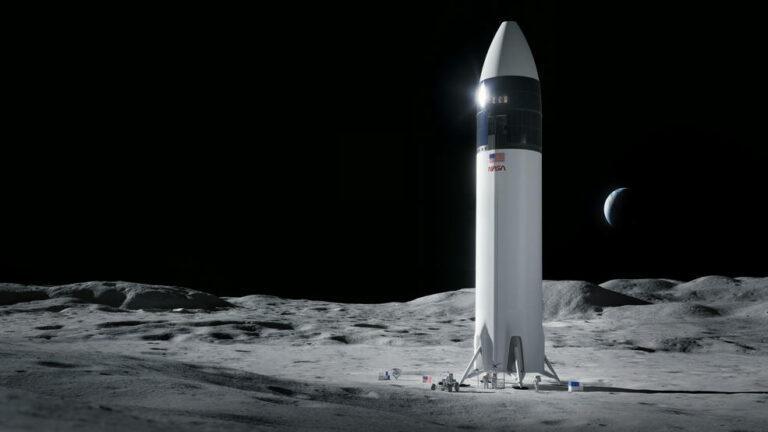 SpaceX's Starship lunar lander